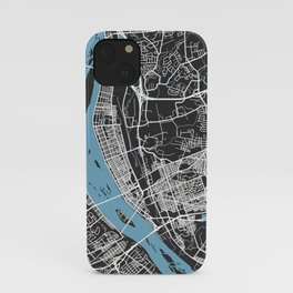 HARRISBURG Map - Pennsylvania | Black + Colors, Review My Collections iPhone Case