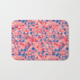 colorful Triangles 1 Bath Mat