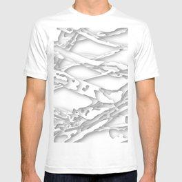 wild white areas T-shirt