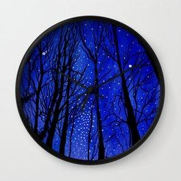 Night under the Stars Wall Clock