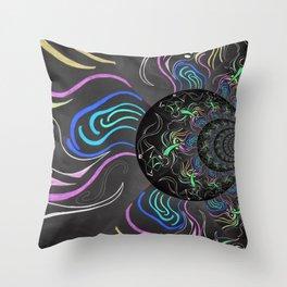 Dark Colour Throw Pillow