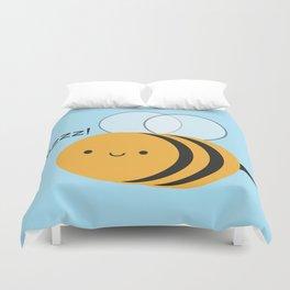 Kawaii Buzzy Bumble Bee Duvet Cover