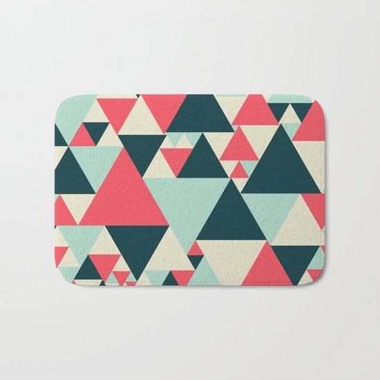 Triangular Pattern  Bath Mat