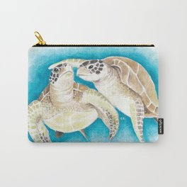 SeaTurtles Fun Watercolor Carry-All Pouch