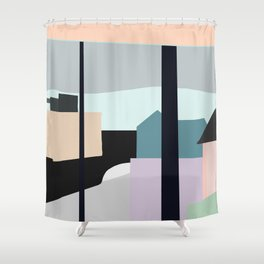 Portland Oregon Shower Curtain