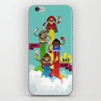 street fighter iPhone & iPod Skins featuring Street Fighter 25th Anniversary!!! by Ed Warner
