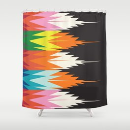 American Native Pattern No. 123 Shower Curtain