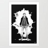 Dean, kicking ass and taking names Art Print