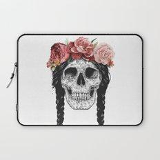Festival skull Laptop Sleeve