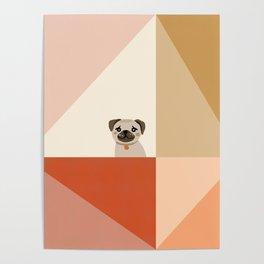 Little_PUG_LOVE_Minimalism_001 Poster