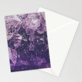 Amethyst Gem Dreams Stationery Cards