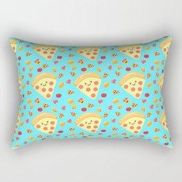Pizza Feels Rectangular Pillow