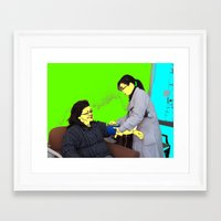 doctor Framed Art Prints featuring Doctor by lookiz