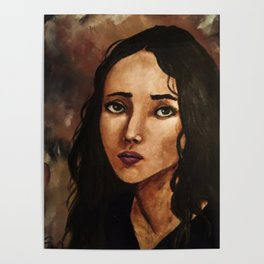 Portrait of Girl (Mora) Poster