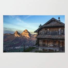 Swiss Hut Rug