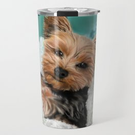 Chewie the Yorkie Travel Mug