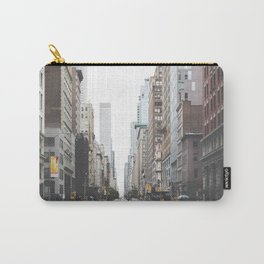 USA Photography - Street In New York City Carry-All Pouch