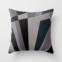 Razzle Dazzle Camouflage Graphic Art Throw Pillow