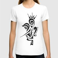 crown T-shirts featuring Crown by Dror Designs