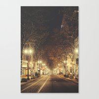portland Canvas Prints featuring Portland by Tasha Marie
