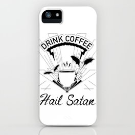 Coffee for Life iPhone Case