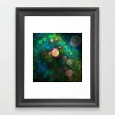 Inner Space Framed Art Print