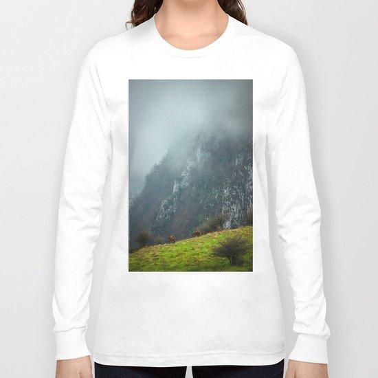 Mountains landscape Long Sleeve T-shirt