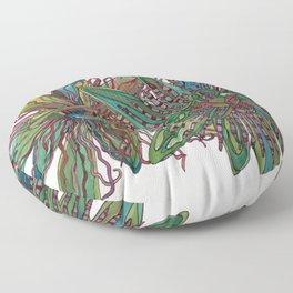 Passion Floor Pillow