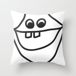 lips! Throw Pillow