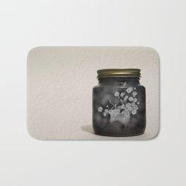Daisies In a Jar Bath Mat