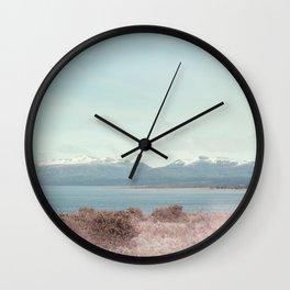 Pastel landscapes 02 Wall Clock