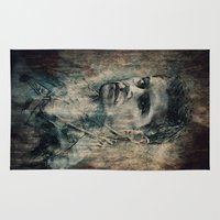 dean winchester Area & Throw Rugs featuring Dean Winchester by Sirenphotos