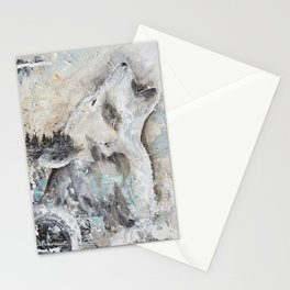 """Animal - """"Sweet Wolf"""" - by LiliFlore Stationery Cards"""