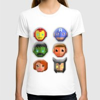 avenger T-shirts featuring The Avenger Pixel by Aulia-pyon
