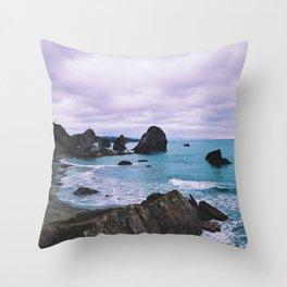 Oregon Coast Throw Pillow