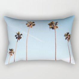 LA Palm Trees Rectangular Pillow