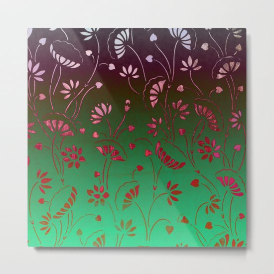 Lilypond-2 Metal Print