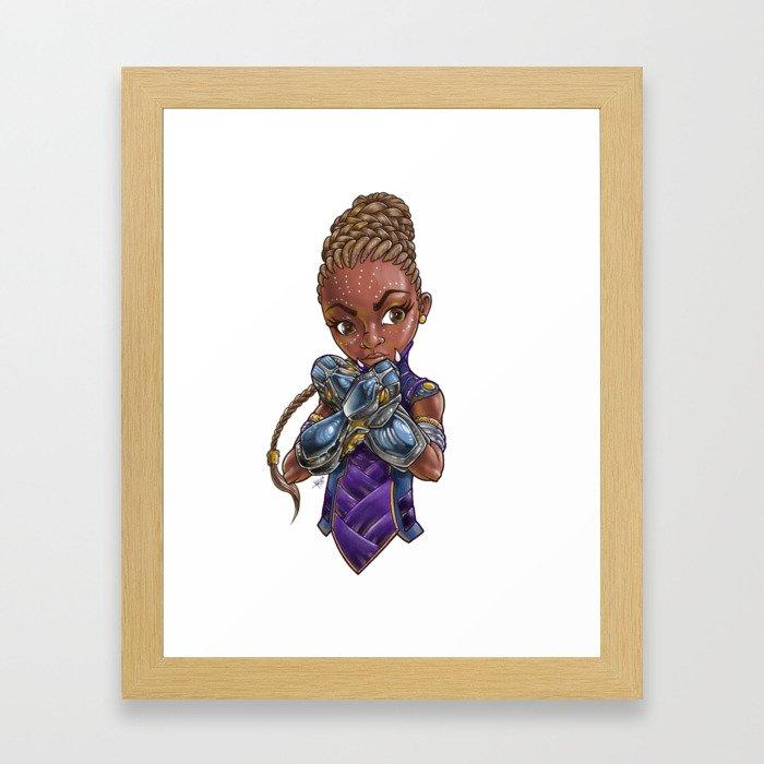 Princess of STEAM Framed Art Print