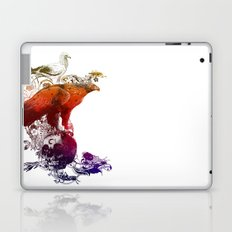 the watchers 3 color version Laptop & iPad Skin