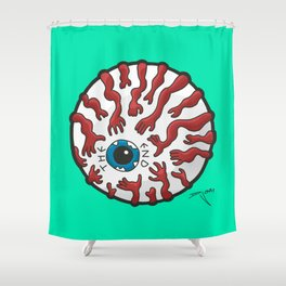 The End Eye Shower Curtain