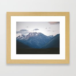 Southern Alps Framed Art Print