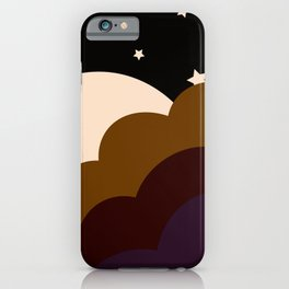 Spooky Night Sky iPhone Case
