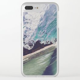 volleyball wet Clear iPhone Case