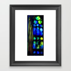 sagrada familia organ Framed Art Print