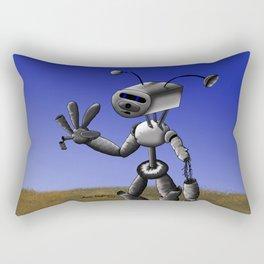Mr Robo Rectangular Pillow