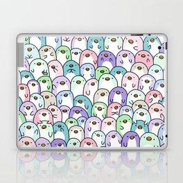 Penguin Snuggles Laptop & iPad Skin