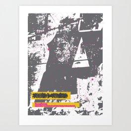ROUTES/ROOTS Art Print