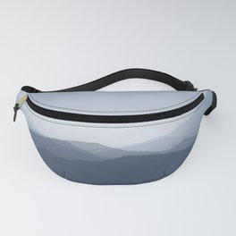 hazy morning blues Fanny Pack