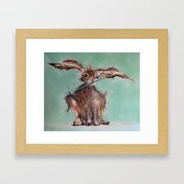 The Wild Hare Studio Helper Framed Art Print