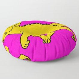 The Sly Fennec Fox Floor Pillow